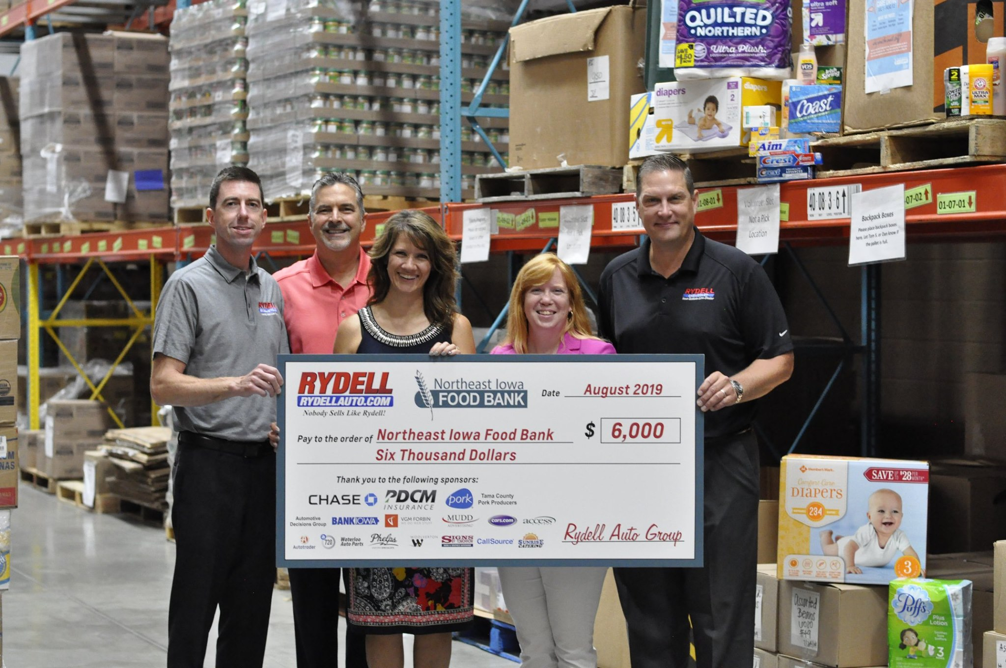 Rydell Chevrolet Donates Proceeds From Car Show Iowa Automobile Dealers Association