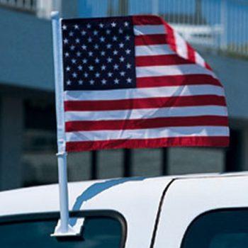 Clip-On American Flag